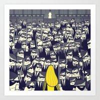 Crazy 88 Art Print