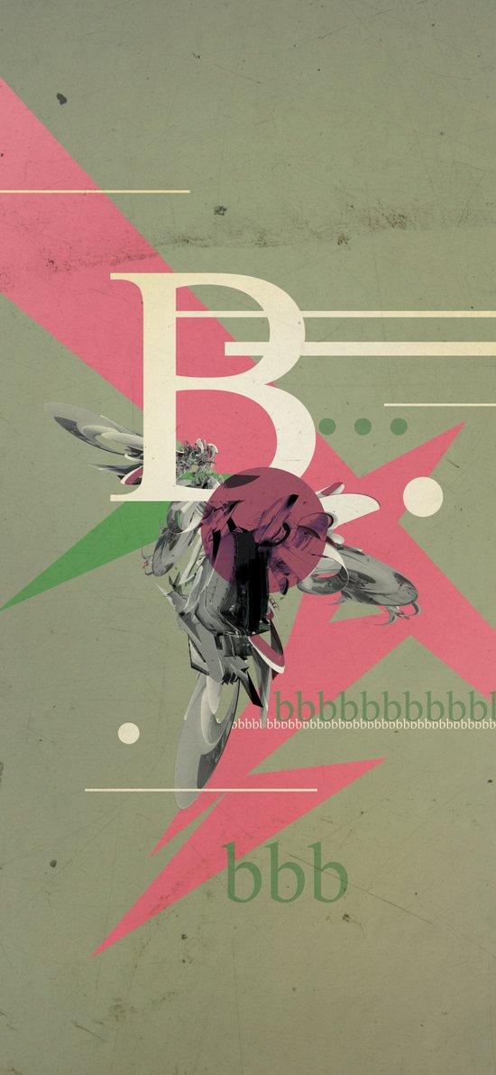 (Times) B Art Print