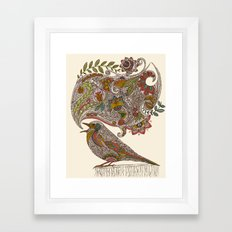 Random Talking Framed Art Print
