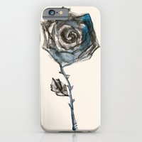 iPhone & iPod Case featuring Royal Blue Rose by Smog
