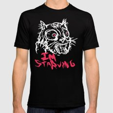 Starving Cat OG Mens Fitted Tee Black SMALL