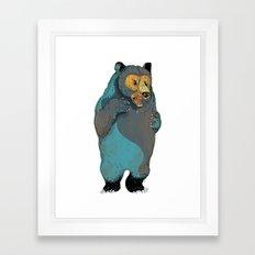 Mr.Grizzly Framed Art Print