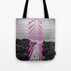 Surreal Beachscape Tote Bag