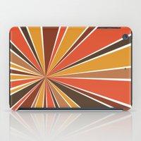 70's Star Burst iPad Case