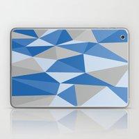 Blue & Gray Geometric Laptop & iPad Skin