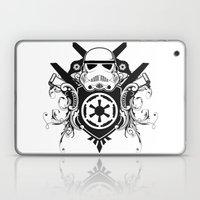 Storm Trooper Coat Of Ar… Laptop & iPad Skin