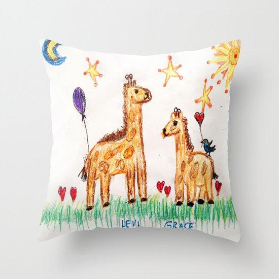 :: Good Friends :: Throw Pillow