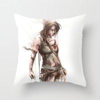 Lara Throw Pillow