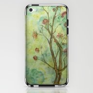 Branch With Flowers iPhone & iPod Skin