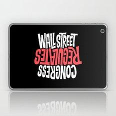 Wall Street Regulates Co… Laptop & iPad Skin