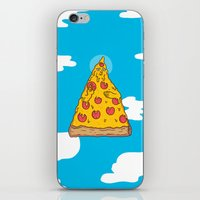 Pizza Be With You iPhone & iPod Skin