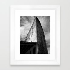 Westbottoms Old Curved Building Framed Art Print