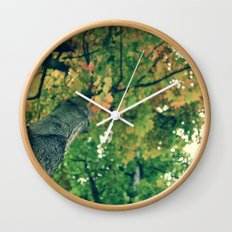 Autumn Overhead Wall Clock