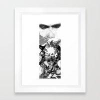 Mingasim // male Framed Art Print