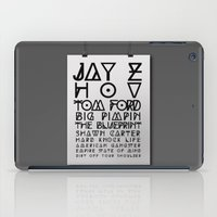 Eye Test - JAY Z iPad Case
