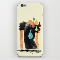 Love grows cold, blood, tears and gold won't make it any better iPhone & iPod Skin