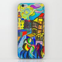 The Wave iPhone & iPod Skin