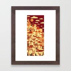 The Tiler Framed Art Print