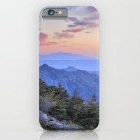 Alayos mountains at sunset iPhone 6 Slim Case