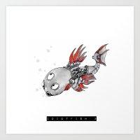 idiotfish 3 Art Print