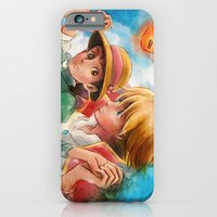 Sophie and Howl from Howl's Moving Castle Tra-Digital Painting iPhone 6 Slim Case
