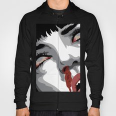 There goes mrs. Mia Wallace Hoody
