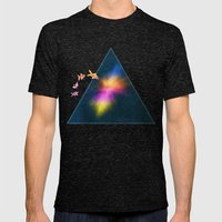 Mission To The Unknown Mens Fitted Tee Tri-Black SMALL