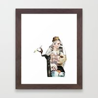 l'imperatrice Framed Art Print