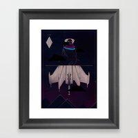 Stealth Framed Art Print