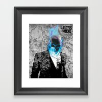 UNREAL PARTY 2012 GHOST RIDER Framed Art Print