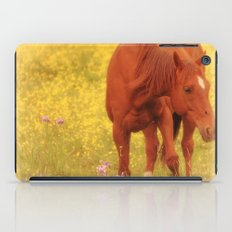 Wild as the Flowers iPad Case