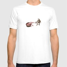 Evolution Mens Fitted Tee White SMALL