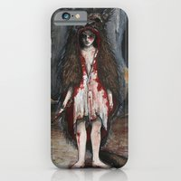 iPhone & iPod Case featuring Wearing the Wolf by Michelle Orozco