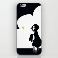 Queen of Spades iPhone & iPod Skin