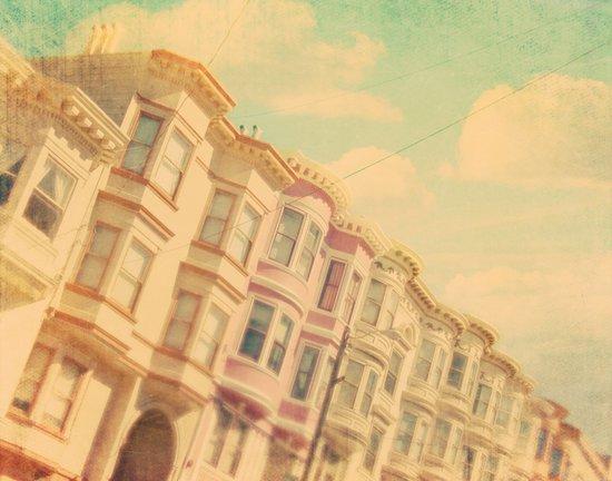 Sweet San Francisco. SF photograph Art Print