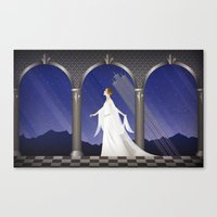 Deco Leia (32x20) Canvas Print