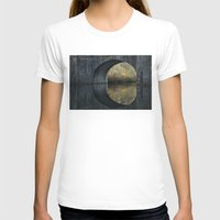 Eye of the bridge Womens Fitted Tee White SMALL