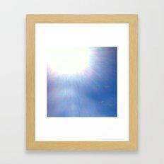 Sea gulls Framed Art Print