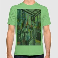 A FIGHT  Mens Fitted Tee Grass SMALL