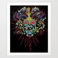 SKUM-ROT Art Print