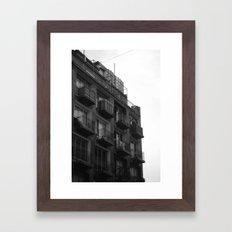 Isolation Framed Art Print