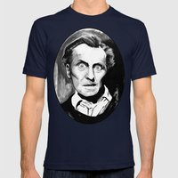 Keep Away From The Skull… Mens Fitted Tee Navy SMALL