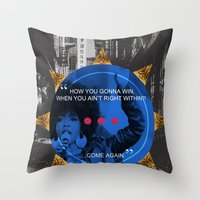 Lauryn Hill tribute  Throw Pillow