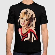 Brigitte Bardot SMALL Mens Fitted Tee Black