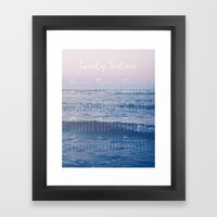 Rose Water 2016 Wall Calendar Framed Art Print
