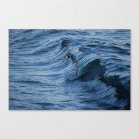 Raw Wet Canvas Print