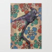 Weird Bird Canvas Print