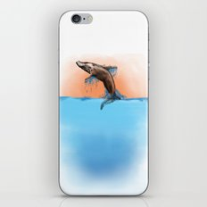 Breaching Whale iPhone & iPod Skin