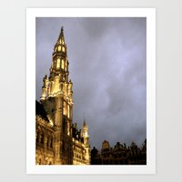 La Grande Place Art Print