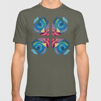 Oh That Fish Mens Fitted Tee Lieutenant SMALL